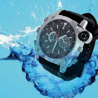 Waterproof HD Spy Watch