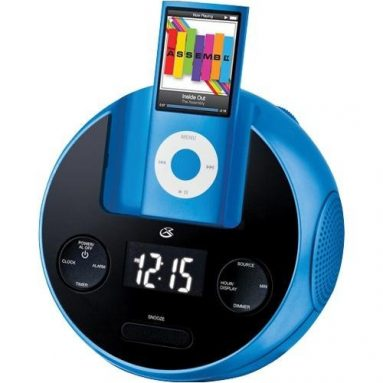 Clock Radio with Dock for iPod 2009: Christmas Gift Ideas