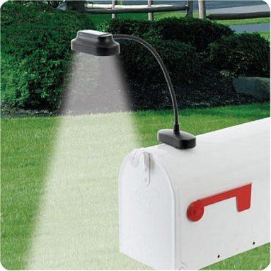 Solar Powered Mailbox Light