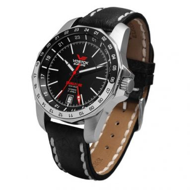 Vostok-Europe Men's Rocket Dual Time Watch