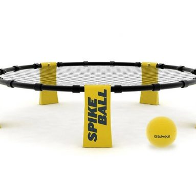 Spikeball. 2 on 2. Intense. Fast.