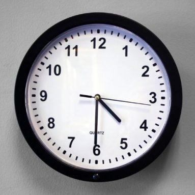 Clock Surveillance Camera w/DVR