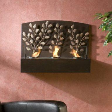 Vine Wall Mount Gel Fireplace