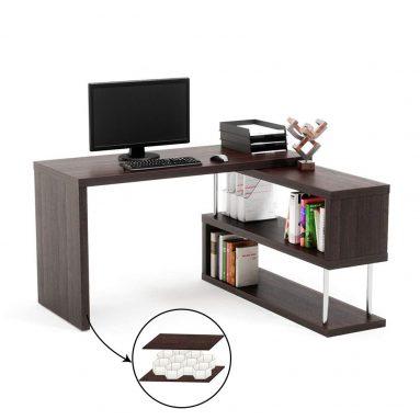Bestier Rotating L-Shaped Desk