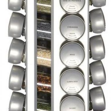 KitchenAid 20-jar red spice rack