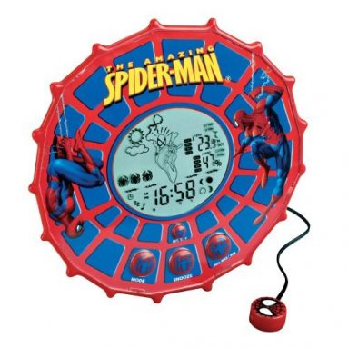 Lexibook Spiderman Weather Station Web Clock