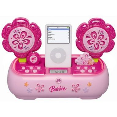 Barbie iPod Speaker System with Dock