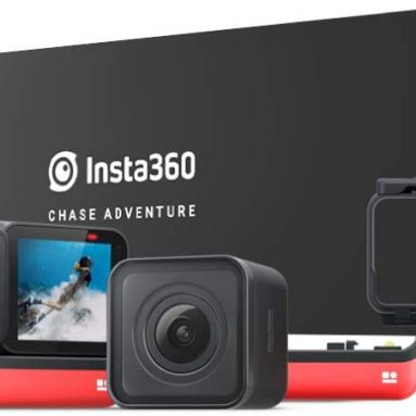 Insta360 ONE R Action Camera 360 Degree 5.7K Dual Lens 4K Wide Angle Sports Video Stabilization