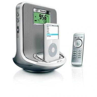 Philips AJ300D Clock Radio with iPod/GoGear Dock