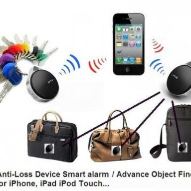 Anti-lost Locator Key Finder for Apple iPhone 4s/iPad/iPhone 5/iPod Touch 5