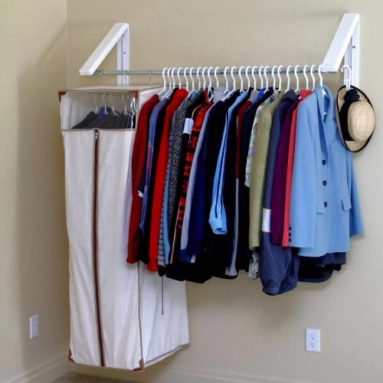 Quik Closet Clothes Storage System