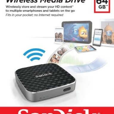 64G Wireless Media Drive Streaming On the Go