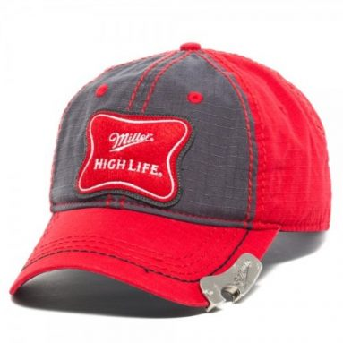 Miller High Life Red Bottle Opener Cap