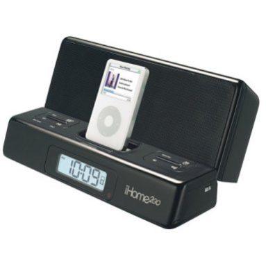 Portable iPod Speaker with Alarm Clock