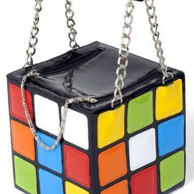 Rubik's/Rubix Cube Style Handbag