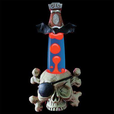 Wax Lamp – Pirate Skull