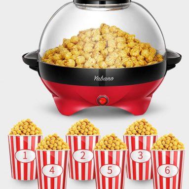6-Quart Popcorn Popper maker