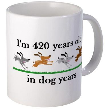 60 Birthday Dog Years 2 – Unique Coffee Mug