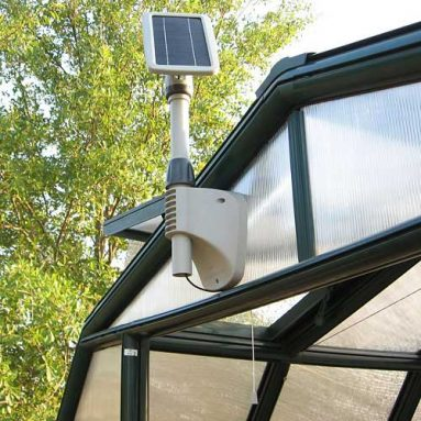 Solar Shed/Greenhouse Light
