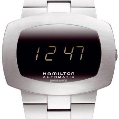 Hamilton Men's Pulsomatic Black Dial Watch