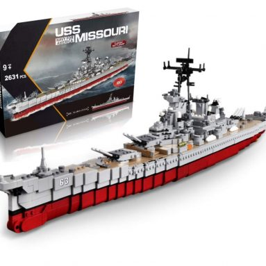 inFUNity WW2 Toys USS Missouri BB-63 Battleship Model