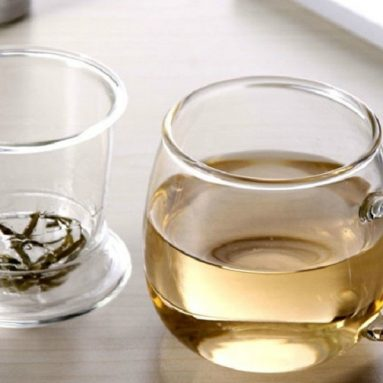 Glass Chubby Cup Tea Cup Kufung Tea Set