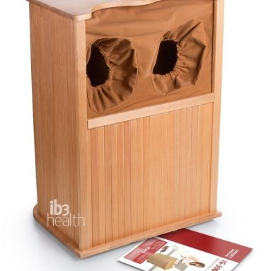 Infrared Wooden Foot Spa