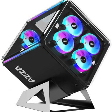 AZZA CSAZ-802F Cube CASE w/DRGB Lighting and Tempered Glass