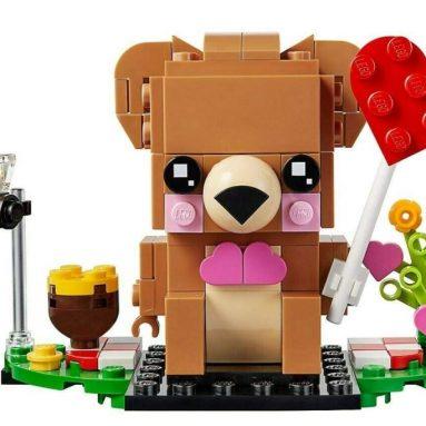 Lego Brickheadz Valentine's Bear