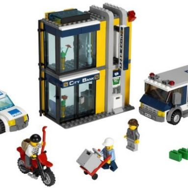 LEGO City Bank & Money Transfer