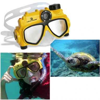 Digital Underwater Camera Mask