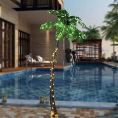 7 Feet Palm Tree, 96LED Lights
