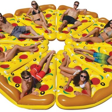Giant Inflatable Pizza Slice for Swmming Pool