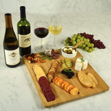 Alphabet Bamboo Cheese/Charcuterie Board