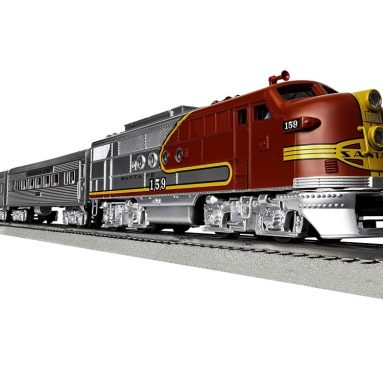 Lionel Santa Fe Super Chief Electric O Gauge Model Train Set