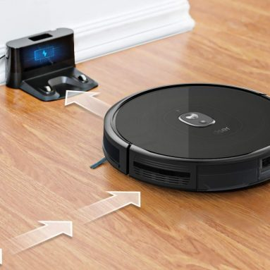 dser RoboGeek 21T, Wi-Fi Robot Vacuum Cleaner