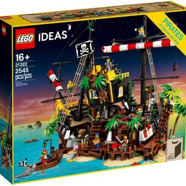 LEGO 21322 Pirates of Barracuda Bay Ideas Set