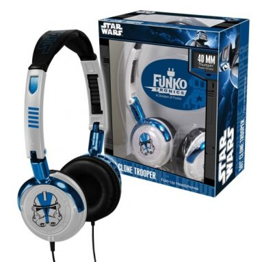 Fold-Up Headphones
