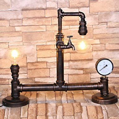 Desk Lamp Industrial Style