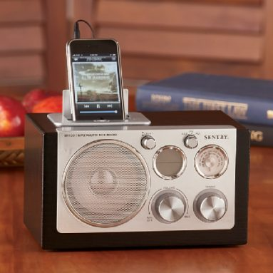 Sound Box With Alarm Clock