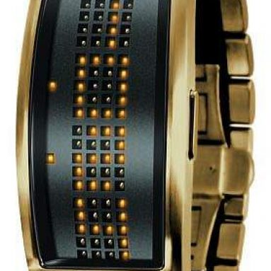 Black Dice LED Watch