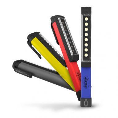 8 LED Work Light Magnetic Clip 60 Lumens
