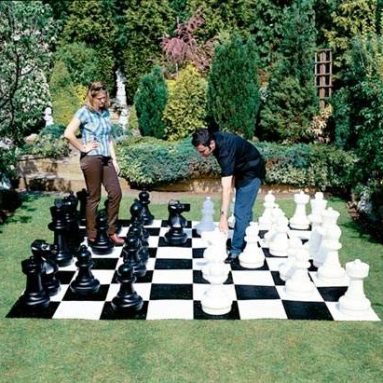Giant Garden Chess Pieces