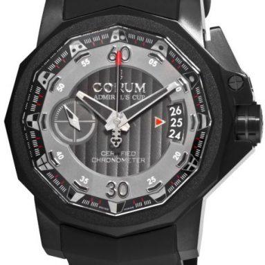 Corum Men's Admirals Cup Chronograph Grey Dial Watch