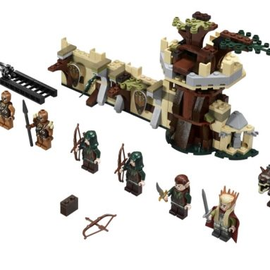 LEGO Lord of the Rings Elf Army Building Kit