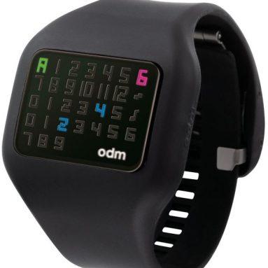o.d.m. Men's Illumi Digital Black Watch