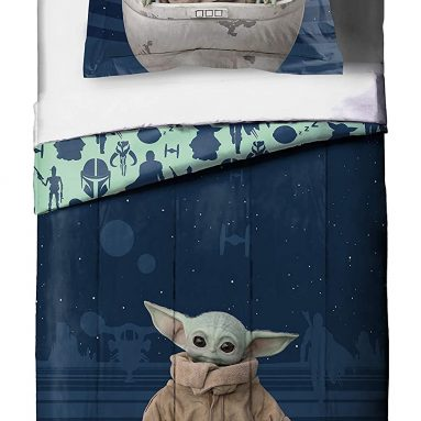 The Mandalorian 'The Child' Baby Yoda 2 Piece Twin/Full Comforter