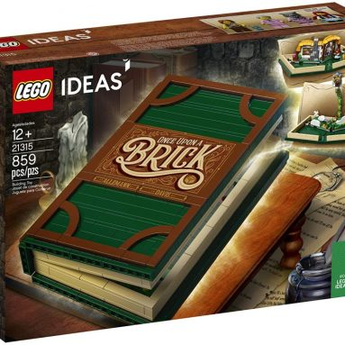 LEGO Ideas 21315 Pop-up Book Building Kit