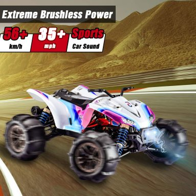 1:16 Scale High Speed 56km/h,35+MPH Off-Road Monster Remote Control Truck-4WD 2.4Ghz Radio Controlled