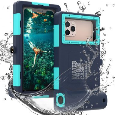 Professional 50ft Diving Phone Case for All Samsung iPhone Series, Universal Waterproof Cell Phone Cover